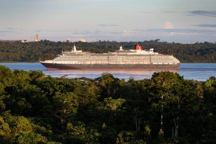 Cunard's Queen Victoria becomes largest cruise ship to sail the Amazon