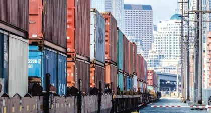 North American freight numbers up 3.3 percent