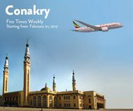 Ethiopian Airlines Addis Ababa – Conakry