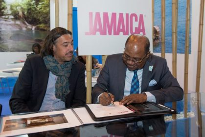 Jamaica Tourism Minister Bartlett signs agreement for two more hotels