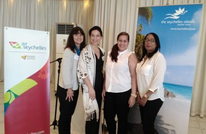 Air Seychelles and Seychelles Tourism Board (STB) meet with trade and travel representatives in Durban