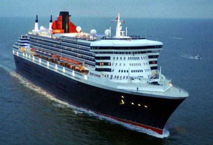 Port Arthur welcomes Queen Mary 2