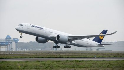 Second Lufthansa A350-900 lands in Munich