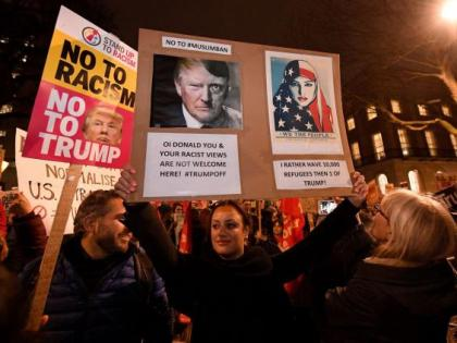 """British MPs discuss downgrading Trump's visit because of his """"well-documented misogyny and vulgarity"""""""