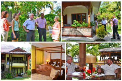 New Seychelles tourism minister visits tourism establishments on Praslin
