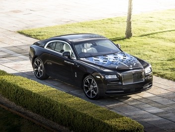 Rolls-Royce partners with British music legends for bespoke Wraith models