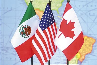 Canada benefits from Mexico tourism whilst USA suffers