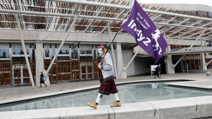 Scotland formally requests new independence referendum
