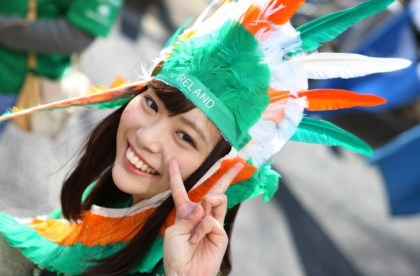 Ireland and Japan join forces for Asia's largest St. Patrick's Day event