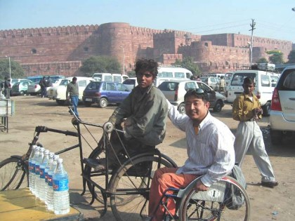 India: Travel for the handicapped quite accessible