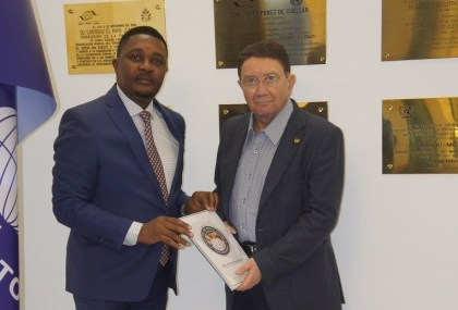 Hon. Walter Mzembi deposits official nomination papers for UNWTO Secretary General