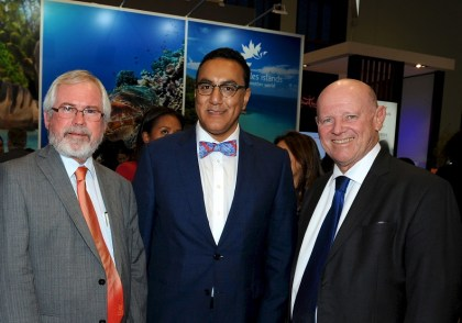 Kenya and Seychelles Ministers at ITB in Berlin