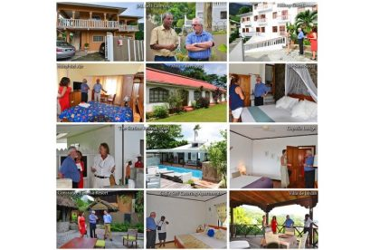 Seychelles Tourism Minister continues visits to Mahe's establishments