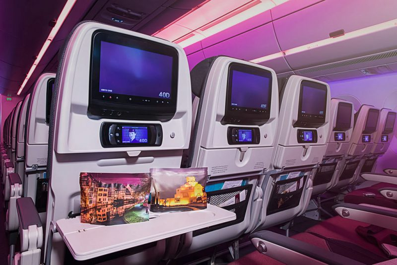 Qatar Airways wins top accolades for new Economy Class kits
