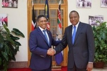 Seychelles and Kenya further consolidate ties on state visit