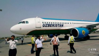 Uzbek Airways resumes flight from Tashkent to Lahore