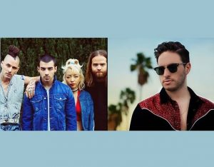 DNCE and Jonas Blue confirmed for Isle of MTV Malta 2017