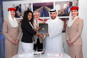 Emirates renews partnership with the Seychelles