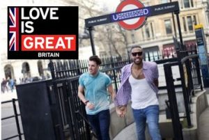 VisitBritain celebrating UK Government's largest participation in Pride activities in the Americas