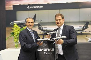 Air Hamburg becomes launch customer for Embraer Legacy 650E
