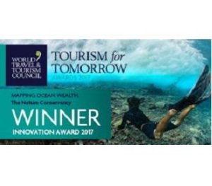 The Nature Conservancy wins WTTC Tourism for Tomorrow Innovation Award