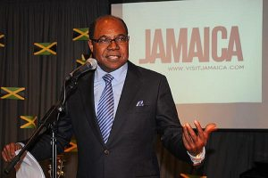 Minister Bartlett at CDB panel discussion on tourism industry reform