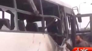 At least 26 people killed, dozens wounded in Egypt bus attack