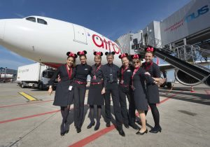 Nonstop from Dusseldorf to Orlando: airberlin's inaugural flight takes off