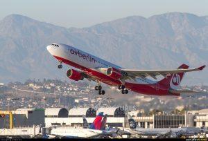 AB7022 flight Berlin Tegel to Los Angeles LAX