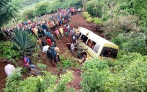 Grisly bus accident  kills 32 school children in northern Tanzania