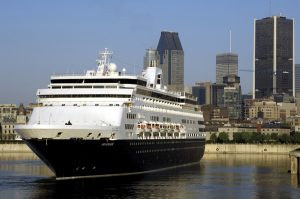 Port of Montreal welcomes first ship at its new cruise terminal