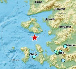Powerful earthquake rocks western Turkey