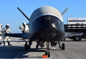 "Elon Musk's aerospace company to launch mysterious X-37B ""space plane"""
