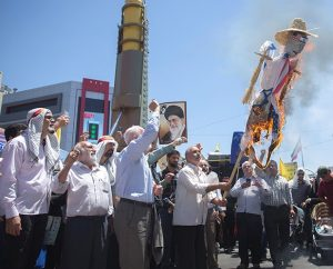 "Iran celebrates Quds Day with ""millions"" chanting ""Death to Israel, death to America and UK!"""