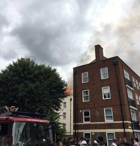 Grenfell Tower 2? 10 fire engines, 72 firefighters battling east London blaze