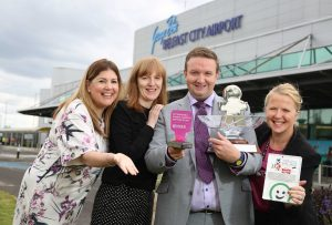 Belfast City Airport celebrates hat-trick of awards