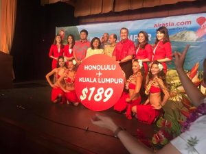 A great day for Malaysia and Hawaii tourism: $189 close on Air Asia