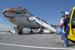Flights to Sochi on Boeing 747
