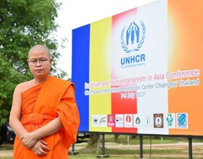 Monks pledge to deepen ties between Buddhism and humanitarian work