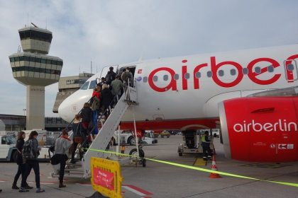 Airberlin introduces new check-in deadlines