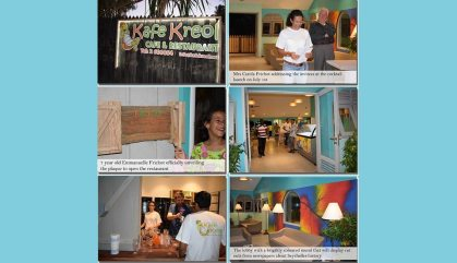 Kafe Kreol: Seychelles' popular beachfront restaurant at Anse Royale reopens