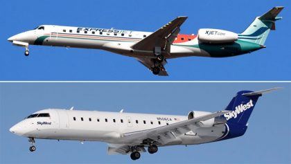 SkyWest: SkyWest Airlines' and ExpressJet Airlines' combined traffic down in June 2017
