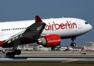 airberlin expansion course to the USA