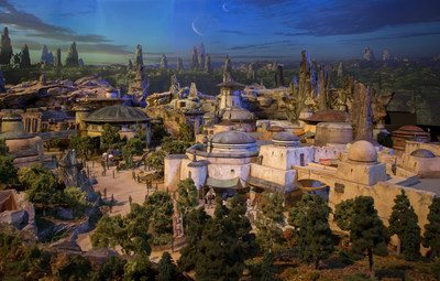 Walt Disney Parks and Resorts Chairman reveals detailed model of Star Wars-themed lands