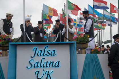 Ahmadi leader in the UK call on Muslims to reject extremism and terrorism