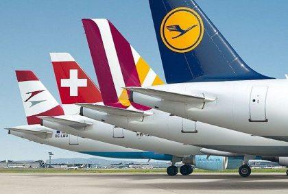 Lufthansa Group: 60 million passengers in first half of 2017