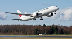 Japan Airlines orders four Boeing 787-8 Dreamliners