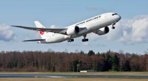Japan Airlines orders four Boeing 787-8 Dreamliners