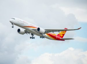 Hong Kong Airlines welcomes its first A350-900