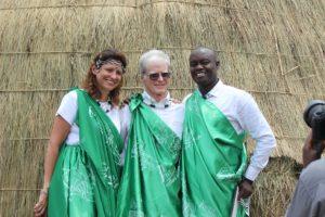 Greg Bakunzi on the honor of naming a baby gorilla in Rwanda